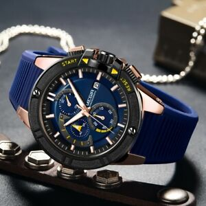 Mens sport watch (Megir) Nurburgring