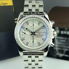 2019 Breitling Chronomat A1331053/A774 Mother Of Pearl Dial Unworn Retail 9,900$