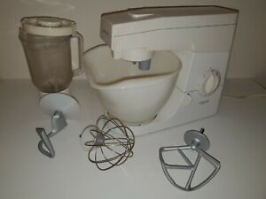KENWOOD CHEF FOOD MIXER, MODEL KM300 WITH BOWL & ACCESSORIES