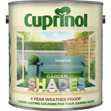 CUPRINOL GARDEN SHADES - SEAGRASS - 1 LITRE -  125 ML TINS  Paint Sheds Wood
