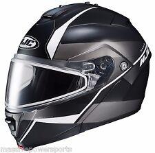 Hjc Is-Max Ii Is-Max2 Mine Snowmobile Helmet Gray M Md Medium Modular SunShield