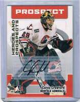 2006-07 ITG Heroes and Prospects Autographs #ACC Corey Crawford NM-MT Auto
