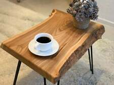 Coffee Table Wood, Modern Hairpin Legs, Mid Century Table, Coffee Table Slab