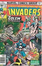 The Invaders Comic Book #13, Marvel Comics 1977 VERY FINE
