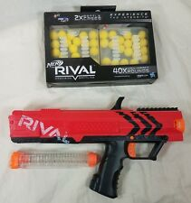 Nerf Rival Apollo XV-700 (red), Ammo Clip, and 40 High Impact Rounds