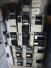 Zebra  barcode printer direct thermal transfer printer -- LOT of 12