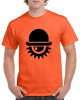 A CLOCKWORK ORANGE 2 DROOG Kubrick Cult Film Heavy Cotton t-shirt All Sizes S-XL