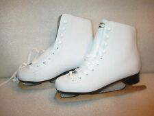 Women Ladies Ice Figure Skates Dbx Padded Boot Size 7 Excellent Condition