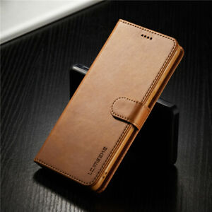For Samsung Galaxy S21 Ultra S21 Plus 5G PU Leather Magnetic Wallet Case Cover
