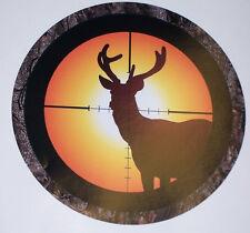 Real Tree Camo Deer Hunting decal Truck Bumper Sticker Hunt Bow BUCK riffle