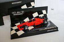 Minichamps F1 1/43 - European Minardi F1X2 Private session Fiorano 2002