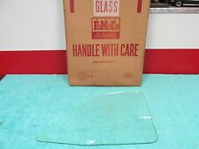 1957-58 FORD FAIRLANE 500 CONVERTIBLE  CLEAR  REAR QUARTER GLASS  NOS FORD  616