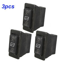 3x New 3 in 1 Car Momentary DPDT Power Window Switch Power Door Lock Control