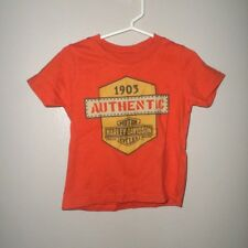 HARLEY-DAVIDSON Motorcycles toddler T shirt 1903 biker T shirt 2T shield logo