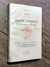 Élie Alta TRAITÉ COMPLET DE CHIROMANCIE PRATIQUE 1er 2e & 3e cahiers 1924 SIGNUM