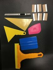Window Film Tint Tools kit 19 -  6 Razor  1 knife  5 squeegee  ( 1 is 3 m)