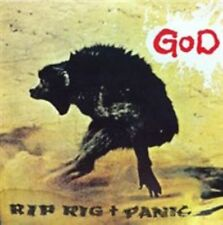 RIP RIG + PANIC - GOD [BONUS TRACKS] NEW CD