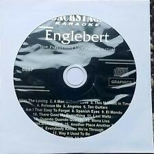 ENGELBERT HUMPERDINCK KARAOKE CDG DISC BACKSTAGE KARAOKE OLDIES MUSIC CD+G