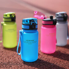 350ml BPA Free Sport Water Bottle Leak Proof Plastic Drinking Bottles for Kids