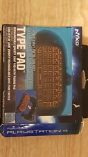 Nyko black and Orange Type Pad Bluetooth Mini Wireless Chat Pad Message Keyboard