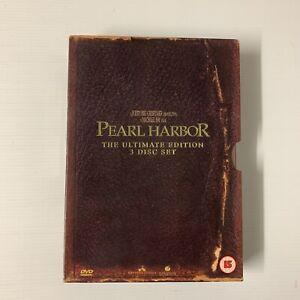 Pearl Harbor 3 DVD Box Set Region 2 UK Europe Japan Middle East
