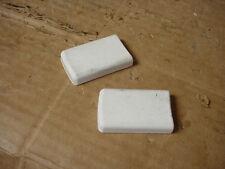 Inglis Refrigerator Door Handle Cap White Set of 2 Part # 2193353W