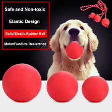 Rubber Dog Ball Toy Durable Dog Chew Toy Outdoor Agility Training Tough Dog Toy