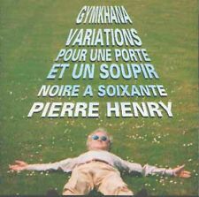 PIERRE HENRY Gymkhana / Variations / Noire..CD 1995 Rec.1963/1970 unreleased M/M