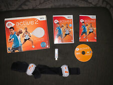 EA Sports Active 2 personal trainer Nintendo Wii 2010 fitness heart rate