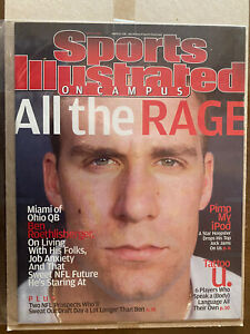 Ben Roethlisberger Rookie Sports Illustrated 2004 Pittsburgh Steelers Mint