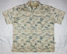 "Men's Hard Rock Cafe ""Key West"" Button Up Dress Shirt Size L EPOC! Free Ship"