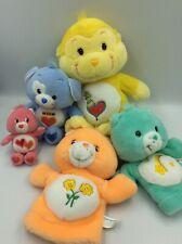 Care Bear Cousins Puppets MixEd Lot Loyal Heart Dog Playful Monkey