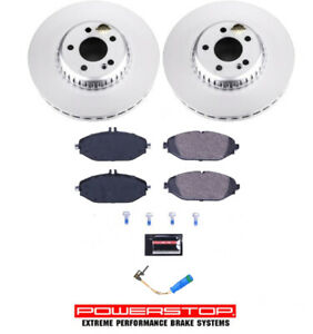 Brake Pad & Rotor/Disc Kit FRONT Premium For for Mercedes Benz C300 E300