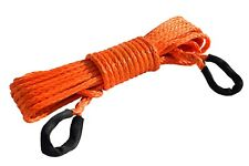 """3/8"""" * 50ft Synthetic Winch Rope Extension,10mm ATV Winch Cable, Synthetic Rope"""