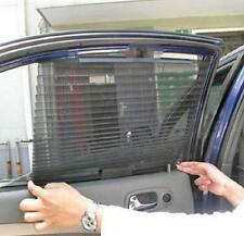 Automatic Retractable Side Window Car Curtain Sun-shading Curtain Blinds Black