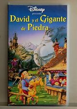 David and the giant of stone-vhs