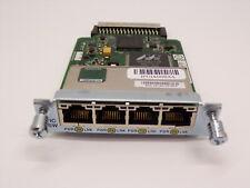 Cisco HWIC-4ESW 4 Port 10/100 Ethernet Switch Interface Card