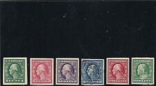 US STAMPS Washington Franklin group of mint and used imperforate issues   (606)