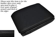 Negro Stitch Apoyabrazos Cuero Piel cubierta para Bmw E38 7 Series 94-01