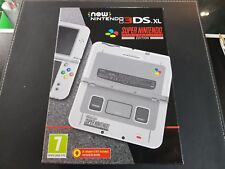 "Super Nintendo SNES Edition Console - ""New"" Nintendo 3DS XL - Brand New & Sealed"