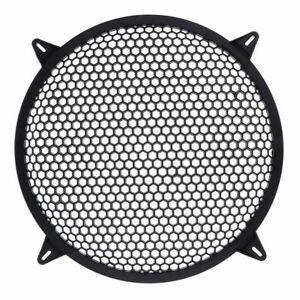 Subwoofer Grid Car Speaker Amplifier Grill Cover Mesh - 10 Inch V7B9