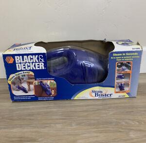 Black & Decker Steam Buster Handheld Deep Cleaner Vac Machine SV1000