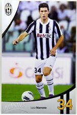 Cartoncino Juventus Stagione 2011/12 - Luca Marrone