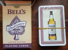 BELLS WHISKY PATIENCE LIMITED EDITION PLAYING CARDS SEALED