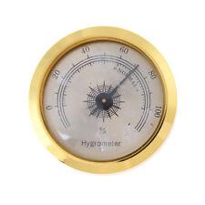 1.8'' Brass Round Frame Pointer Hygrometer for Cigar Humidor RF
