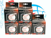 (5) ULTRA PRO BASEBALL CUBE,  baseball display case clear NEW protection holder