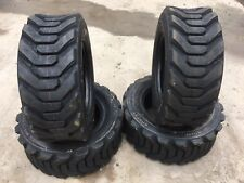 4 NEW 12-16.5 Skid Steer Tires  - 12 ply - 12X16.5 - 22/32nd-For Bobcat & others