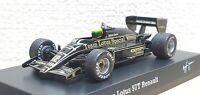 1/64 Kyosho F1 Ayrton Senna Collection LOTUS RENAULT 97T #12 diecast car model