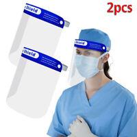 2 X Cappello Trasparente Antiappannamento Saliva Visiera Protettiva Adulto