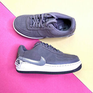 Nike Air Force 1 Jester Low Womens Trainers Grey UK 3.5 EUR 36.5 US 6 BQ3163 001
